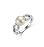 Schaap en Citroen Parel ring Pearls parel wit