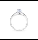 Royal Asscher Solitair ring Contemporary