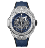 Hublot Horloge Big Bang Unico 45mm Sang Bleu II 418.NX.5107.RX.MXM20