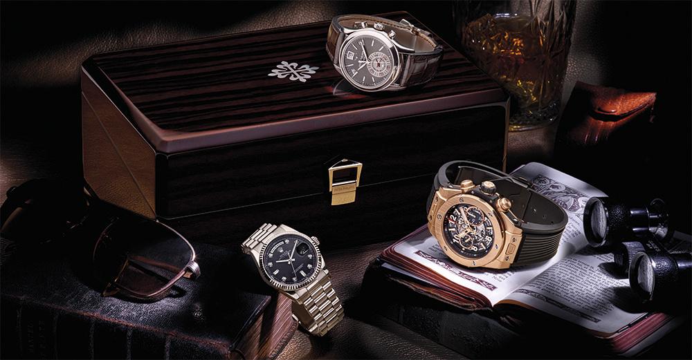 Vier pre-owned heren horloges welke nu bij Schaap en Citroen te koop zijn!
