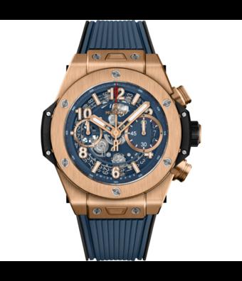 Hublot Horloge Big Bang Unico 42mm King Gold Blue 441.OX.5189.RX