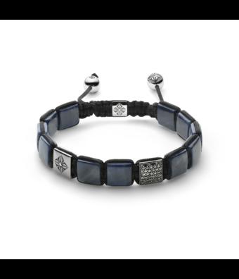 Shamballa Fantasie armband Lock Bracelet 10mm reversible
