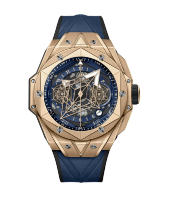 Hublot Horloge Big Bang Unico 45mm Sang Bleu II 418.OX.5108.RX.MXM20
