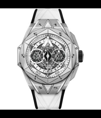 Hublot Horloge Big Bang 45mm Sang Bleu White 418.NX.2001.RX.MXM20