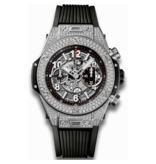 Hublot Horloge Big Bang Unico 45mm Titanium Pave 411.NX.1170.RX.1704