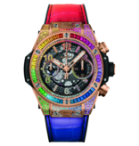 Hublot Horloge Big Bang 42mm King Gold Rainbow 441.OX.9910.LR.0999