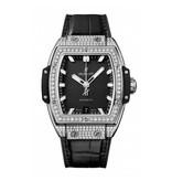 Hublot Horloge Spirit of Big Bang 39mm Titanium Pave 665.NX.1170.LR.1604