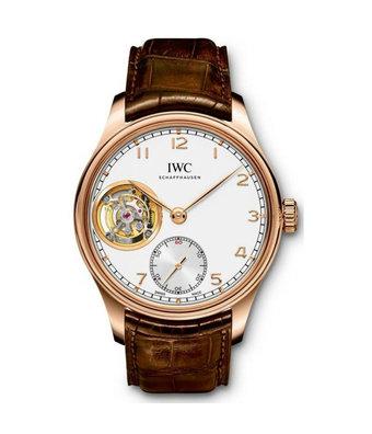 IWC Horloge Portugieser 43mm Tourbillon Hand-Wound IW546302