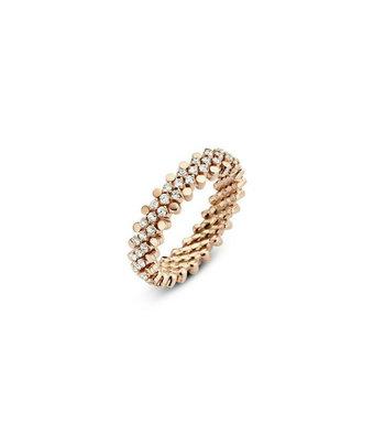 Serafino Consoli Flexibele ring Brevetto midden multi size 5rij
