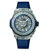 Hublot Horloge Big Bang Unico 45mm GMT Titanium Chronograph 471.NX.7112.RX