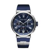 Ulysse Nardin Horloge Marine 43mm Chronograph 1533-150-3/43