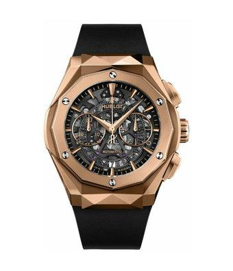 Hublot Horloge Classic Fusion 45mm Aerofusion Chronograph King Gold Orlinski 525.OX.0180.RX.ORL18