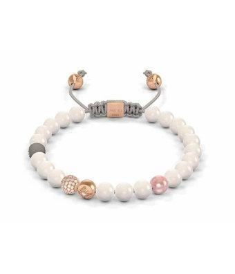 Shamballa Fantasie armband Non-Braided Bracelet 6mm