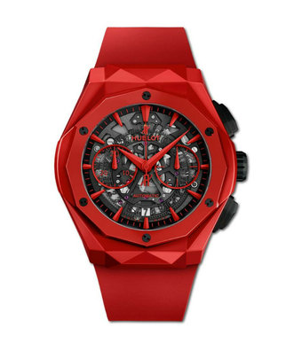 Hublot Horloge Classic Fusion 45mm Chronograph Orlinski Aerofusion Red Ceramic 525.CF.0130.RX.ORL19