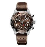 IWC Horloge Pilot 46mm Chronograph Edition 80 Years flight to New York IW395003