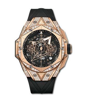 Hublot Horloge Big Bang Unico 45mm Sang Bleu II 418.OX.1108.RX.1604.MXM20