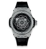 Hublot Horloge Big Bang 39mm Sang Bleu Pave 465.SS.1117.VR.1704.MXM18
