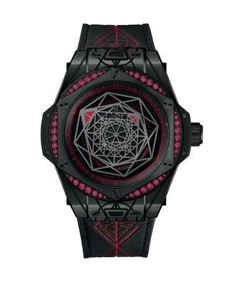 Hublot Horloge Big Bang 39mm Sang Bleu all Black Edition 465.CS.1119.VR.1202.MXM18