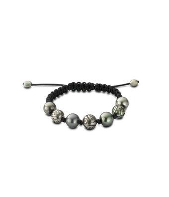 Schaap en Citroen Parel armband Pearls leder