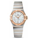Omega Horloge Constellation 27mm Co-Axial Ladies 127.20.27.20.55.001