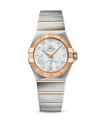 Omega Horloge Constellation 27mm Co-Axial Ladies 127.20.27.20.55.001
