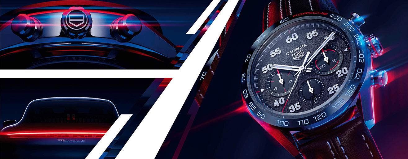 Ontdek de zojuist gelanceerde TAG Heuer Carrera Porsche Chronograph bij Schaap en Citroen!