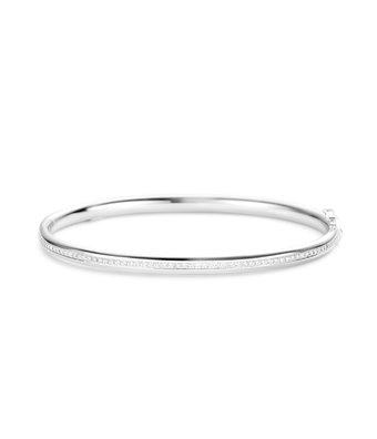 Schaap en Citroen Gladde armband Diamonds scharnier 3mm
