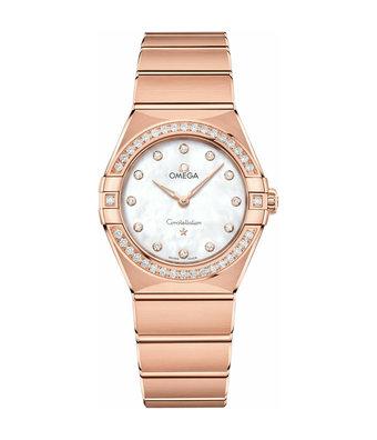 Omega Horloge Constellation 28mm Manhattan Ladies 131.55.28.60.55.001