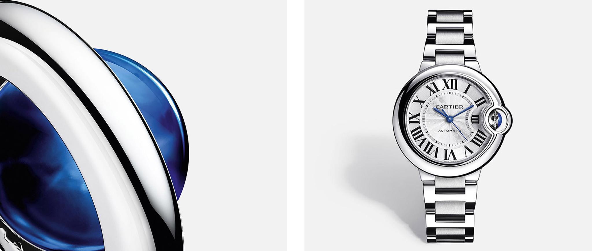 De 'Ballon Bleu de Cartier', wordt dit uw nieuwe horloge? Ontdek het iconische model hier.