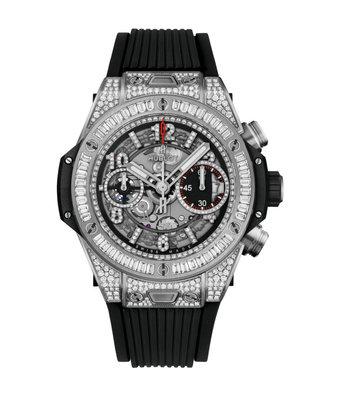 Hublot Horloge Big Bang Unico 42mm Titanium Jewellery 441.NX.1170.RX.0904