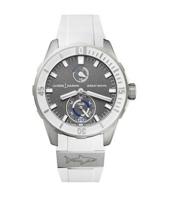 Ulysse Nardin Horloge Diver 44mm Great White 1183-170LE-3/90-GW