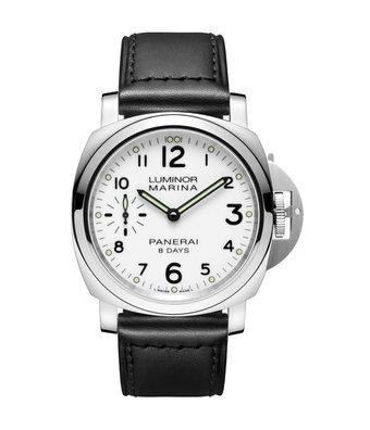 Panerai Horloge Luminor Marina 44mm 8 Days Acciaio PAM00563