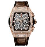Hublot Horloge Spirit of Big Bang 42mm King Gold Pavé 641.OX.0183.LR.1704