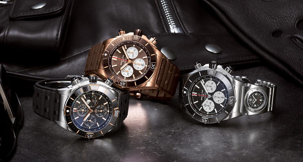 De lancering van de Breitling SUPER Chronomat- collectie