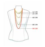 Schaap en Citroen Schakel collier Essentials diverse schakels