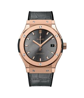 Hublot Horloge Classic Fusion 42mm King Gold Racing Grey 542.OX.7081.LR