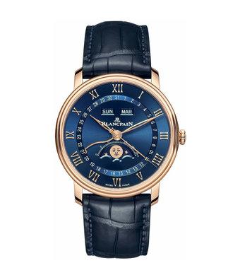 Blancpain Horloge Villeret 40mm Quantieme Complet 6654-3640-55