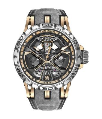 Roger Dubuis Horloge Excalibur Spider  45mm Huracan Rose Gold RDDBEX0750