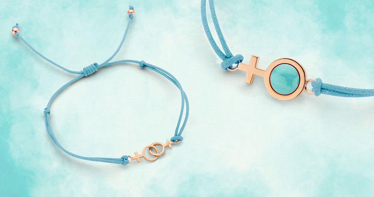 Gift for Life armbanden in samenwerking met de Female Cancer Foundation en Ambassadeur Eva Jinek