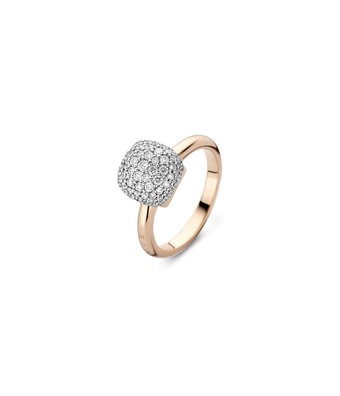 Bigli Pave ring Mini Sweety 10mm