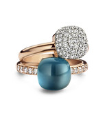 Bigli Pave Ring Mini Sweety pave 23R149RWdia