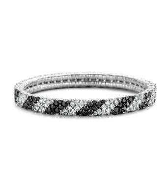 Schaap en Citroen Flexibele armband Diamonds