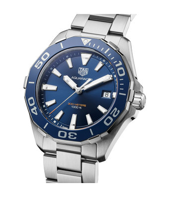 TAG Heuer Horloge Aquaracer quartz 41mm WAY111C.BA0928
