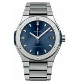 Hublot Horloge Classic Fusion 42mm Chronograph Titanium Bracelet 540.NX.7170.NX