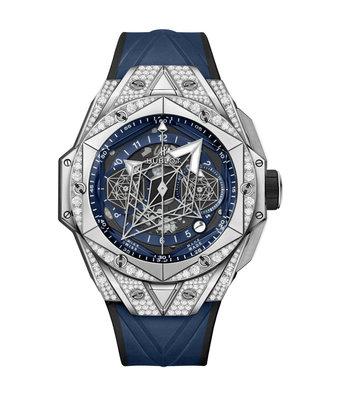 Hublot Horloge Big Bang Unico 45mm Sang Bleu II 418.NX.5107.RX.1604.MXM20