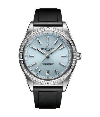 Breitling Horloge Chronomat 36mm Ice Blue G10380591C1S1