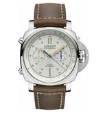 Panerai Horloge Luminor 1950 Regatta 44mm 3 Days Chrono Flyback Acciaio PAM00654