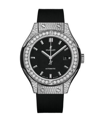 Hublot Horloge Classic Fusion 33mm Titanium Pavé 582.NX.1170.RX.1704