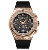 Hublot Horloge Aerofusion 45mm Orlinski King Gold Alternative Pave 525.OX.0180.RX.1804.ORL19