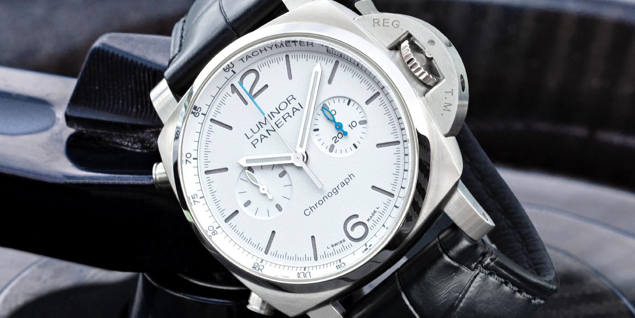 Ontdek hier stoere Panerai horloges met een chronograaf functie!
